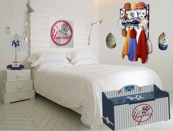 Create a Sports Bedroom Theme