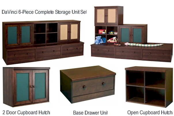 DaVinci Kids Storage Units