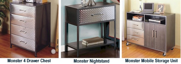 Powell Furniture Monster Bedroom Collection