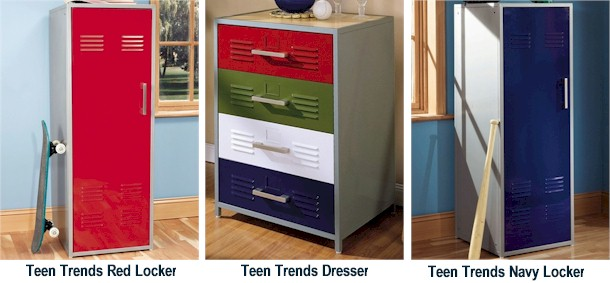 Powell Furniture Teen Trends Bedroom Collection