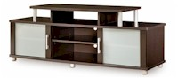SouthShore Furniture City Life TV Stand in Chocolate
