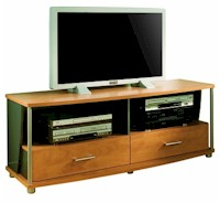 SouthShore Furniture City Life TV Stand in Honeydew