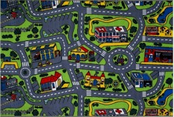 Fun Rugs Driving Time Rug