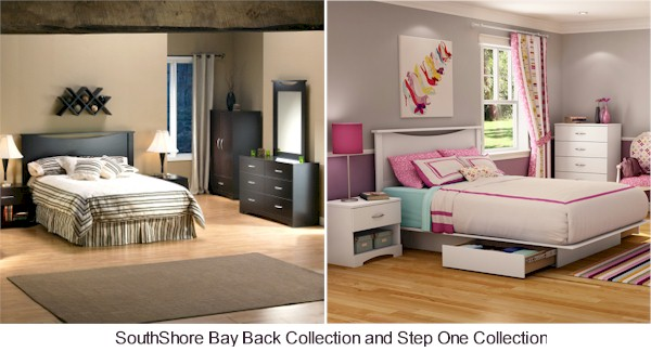 SouthShore Back Bay and Step One Kids Furniture Collections