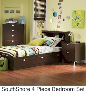 SouthShore 4 Piece Kids Bedroom Set