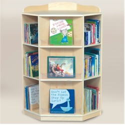 Guidecraft Corner Bookcase