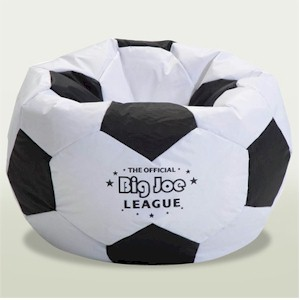 Sports theme beanbag chair