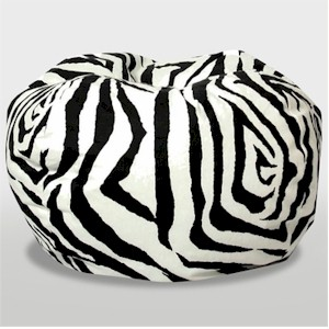 animal print beanbag chairs
