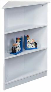 Kids Korner Corner Bookshelf