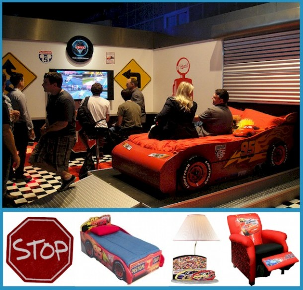 Delta Pixar Cars Kids Furniture Collection