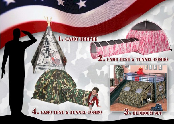 armed forces kids bedroom theme