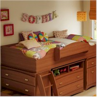 SouthShore Loft Bed from the Imagine Collection