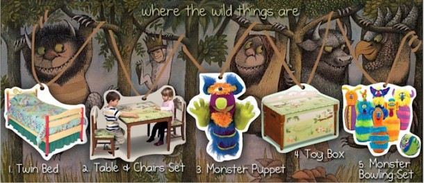 Where the Wild Things Are Kids Bedroom Theme Inspiration Board