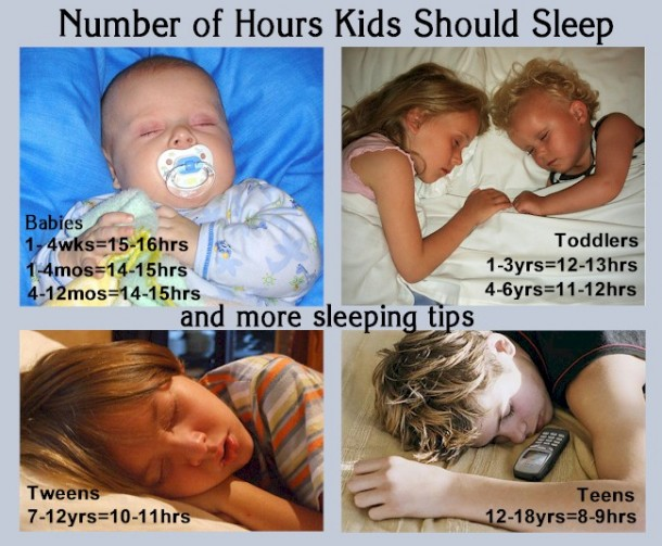 Tips on helping kids get to sleep