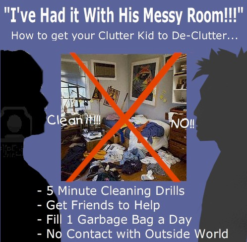 Tips on Getting Kids to Clean
