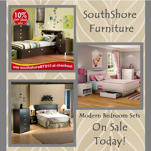 SouthShore furniture on sale