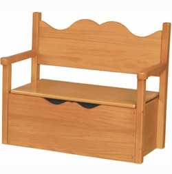 Bench Toy Box by Little Colorado
