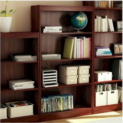 Contemporary Bookcase by SouthShore
