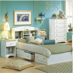 Newbury Twin Mates Bed