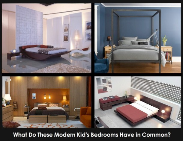 modern kids bedrooms
