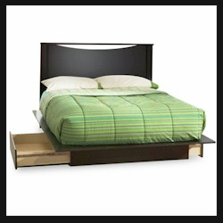 Back Bay Kids Platform Bed by Southshore